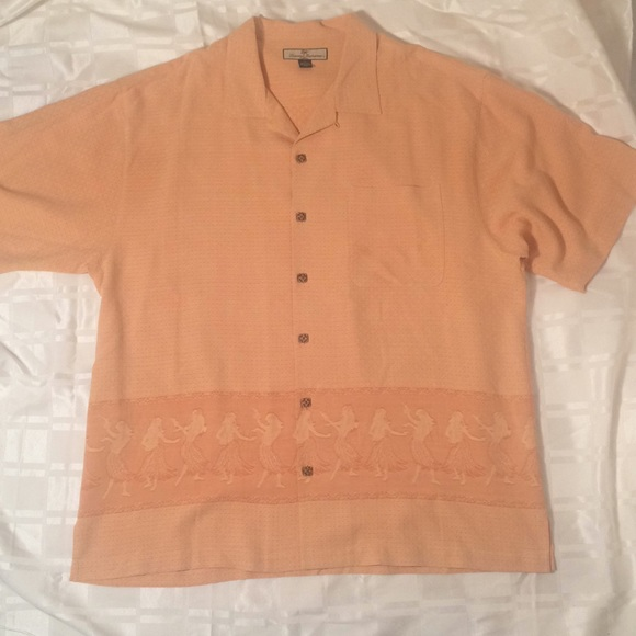 1960787c TOMMY BAHAMA HULA Dancers DRESS SHIRT SZ XL. M_5a5e3f1a6bf5a665408cec57